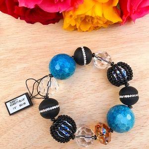 Bead and Swarovski Crystal Bracelet